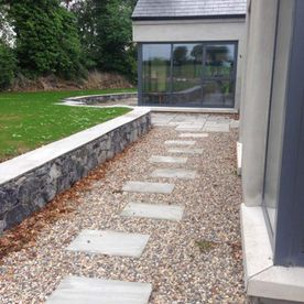 Hand Cut Grey Paving