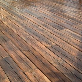 Wood Effect Decking