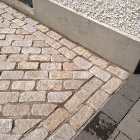 Yellow Granite Cobbles