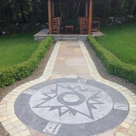 NSEW Large Limestone Circle